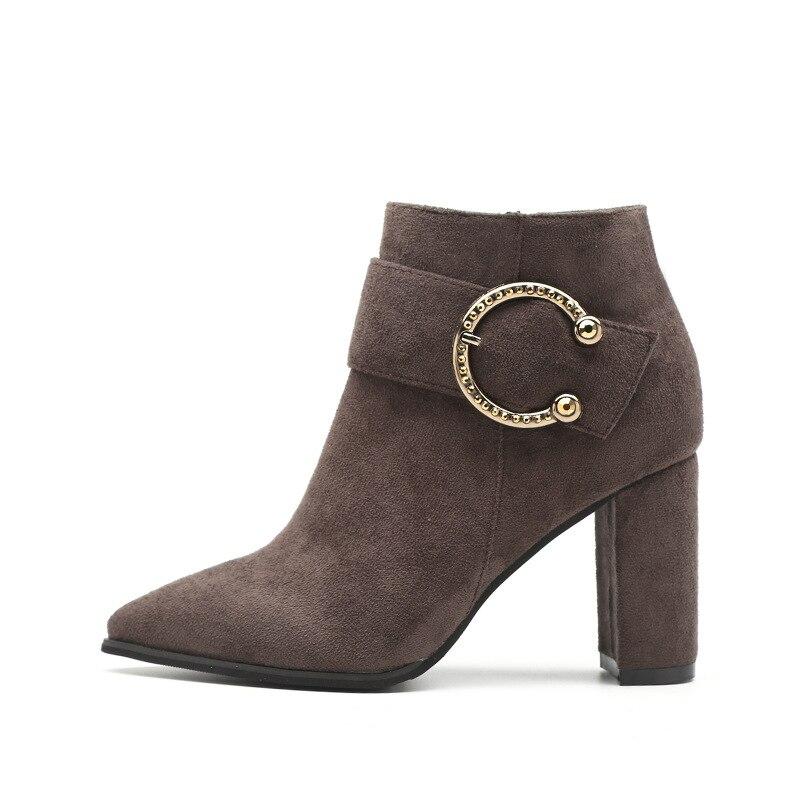 1 Mode Formelle Pompes Pantoufles Hiver Fourrure Italien Fond Talons Bas Femme De Stilettos Dames Épais Designer 2018 Haute Chaussures 2 Femmes WAPqH0gxz