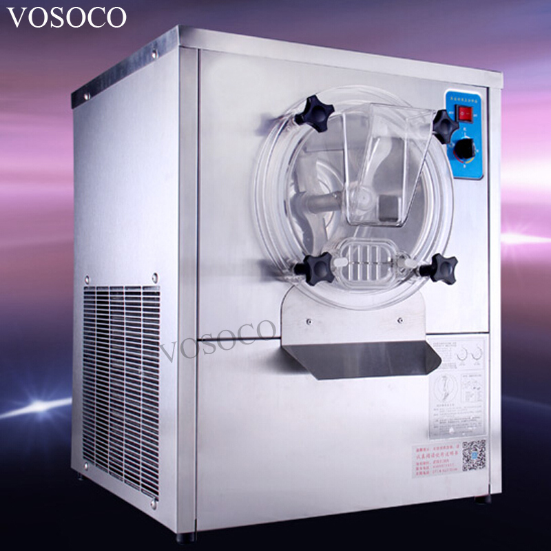 VOSOCO Commercial ice cream machine Hard Scoop ice cream machine 1500W Stainless steel ice cream machine 15L/h Ice cream maker стоимость