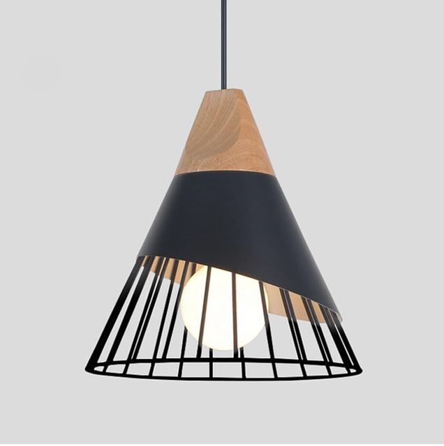 precio Luces Mejor led madera simple metal colgantes de 4AcR35qjL