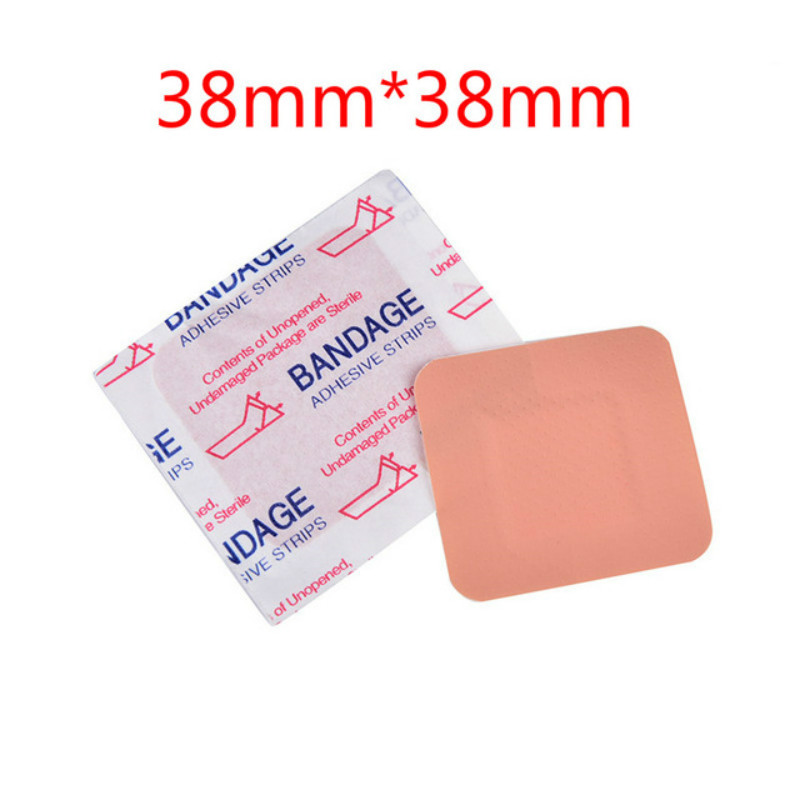 20Pcs Waterproof Breathable First Aid Bandage Adhesive Bandage First Aid Band Aid For Skin Care 38*38mm
