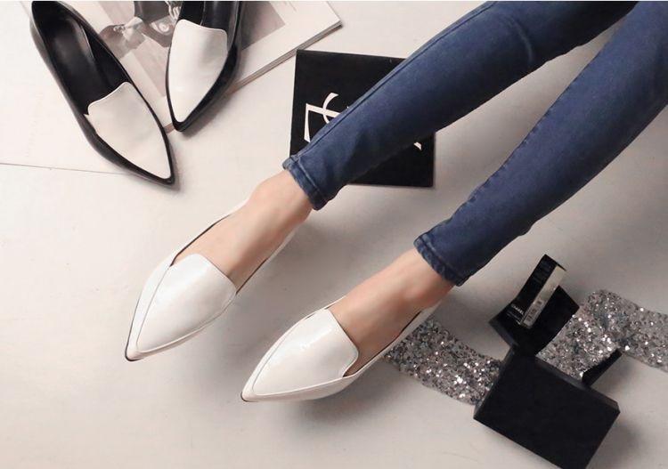 bf3edd0f9ef Designer Loafers Women 2014 Fashion Flat Shoes High Quality White ...