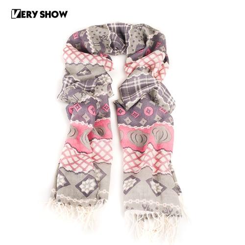 Very show wool silky women's long romantic petty bourgeoisie design scarf 13