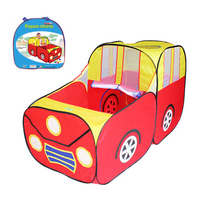 Play Tent Red Sports Car Kids House Play Hut Children Ocean Balls Pit Pool Pop Hut Play Pool Funny Play Tent Best Children Gift