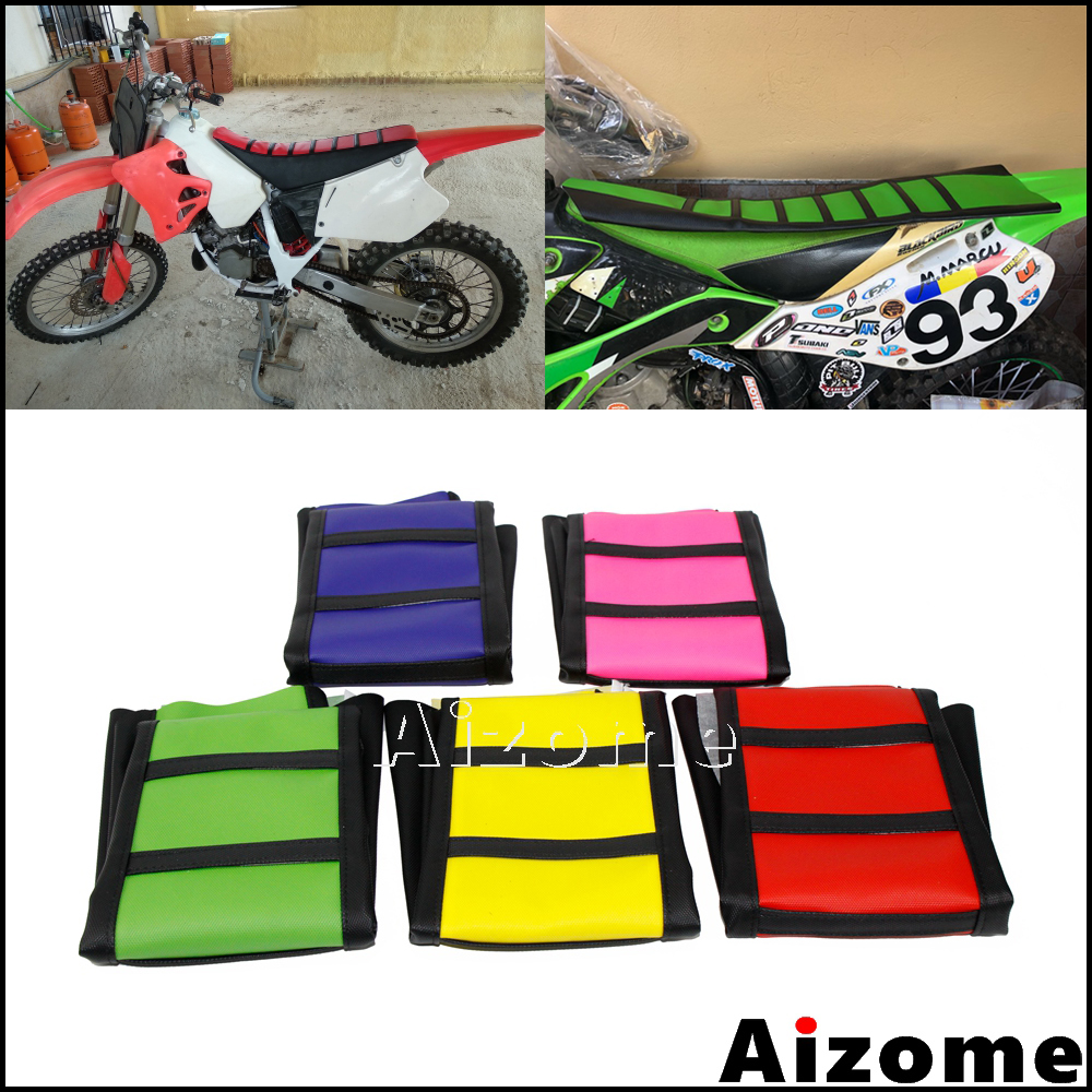Dirt Bike Off-Road Front Fork Anti-Dust Cover Gaiter Boots For CRF XR YZ WR TTR KLR KX KLX DR RMX RMZ Enduro FC TE FE EXC XC-W XCF-W EXC-F Black
