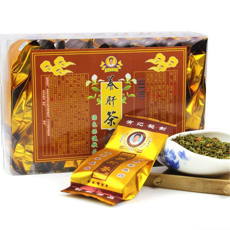 TOP Grade Green tea Health Care Organic Chinese Liver Black Tea,Herbal Tea for High Blood Pressure Fatty LIver 30bags