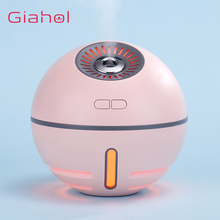 4 In 1 300ML Small Air Humidifier Rechargeable Humificador Oil Aromatherapy Aroma Diffuser Mist Maker USB Fan And LED Light