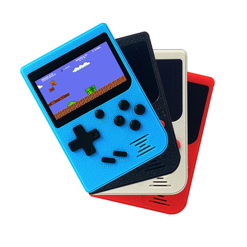 Wholesale 4pcs Retro Portable Mini Handheld Game Player Console 8-Bit 3 Inch Color LCD Kids Color Game Player Built-in 128 Video