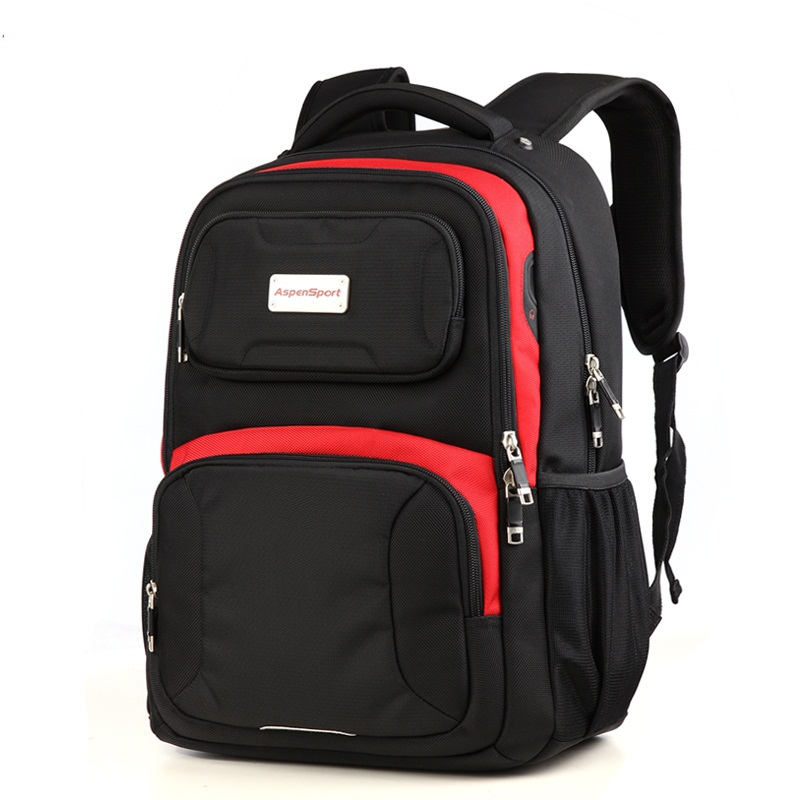 Fashion Mens Aspen Sport Bag School Unisex Student Shoulder Backpack 17inch Laptop Bags for Macbook Air Pro Female Rucksack