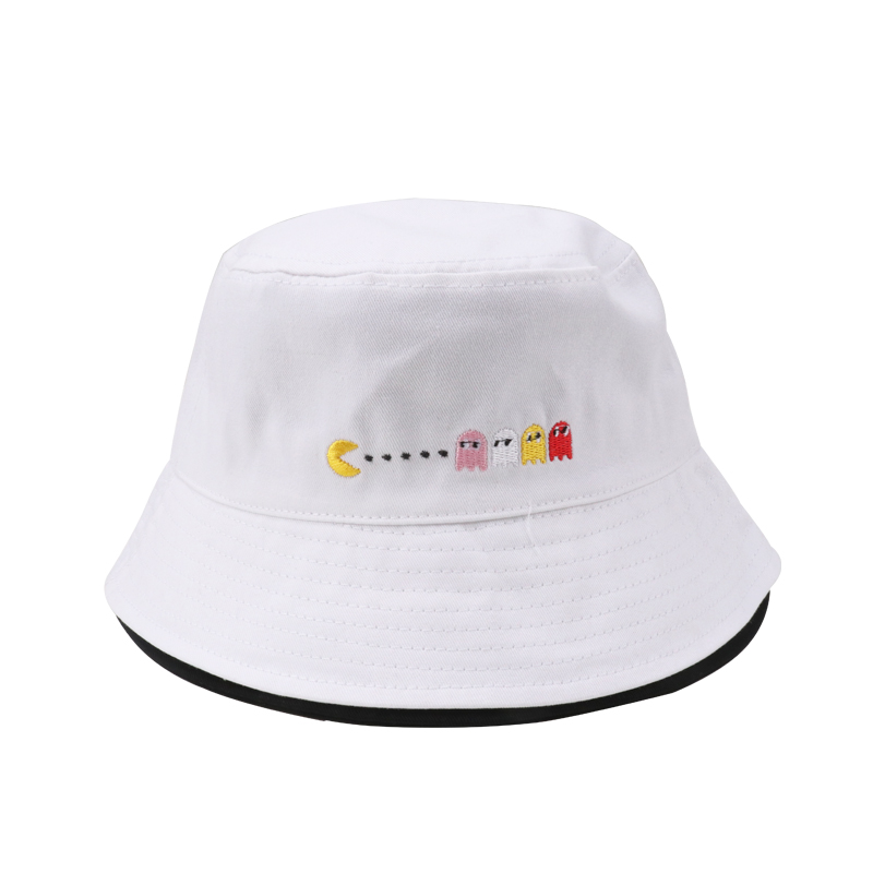 2018 White Summer Bucket Hat Fishing Cotton Bob Boonie Fisherman Hats Men Women Beach Su ...