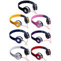 Stereo Foldable DJ Style Adjustable Children Boys Girls Kids Headphones for iPhone Computer PC Smart Phone