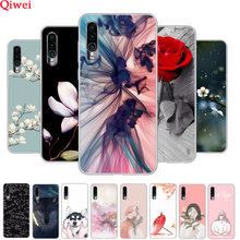 For Meizu 16XS Case Rose Animals Flower Printing Silicone Phone Cases For Meizu 16XS 16 XS Cover Soft TPU Coque Clear Bumper(China)