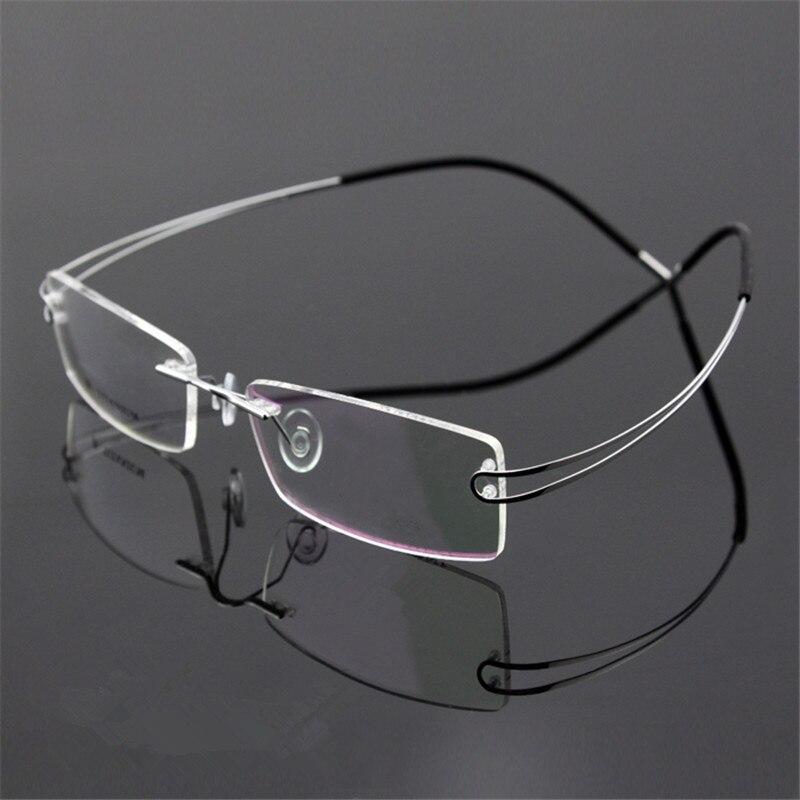 ᗐNuevo Titanium Gafas Marcos ojo Gafas hombres mujeres prescripción ...