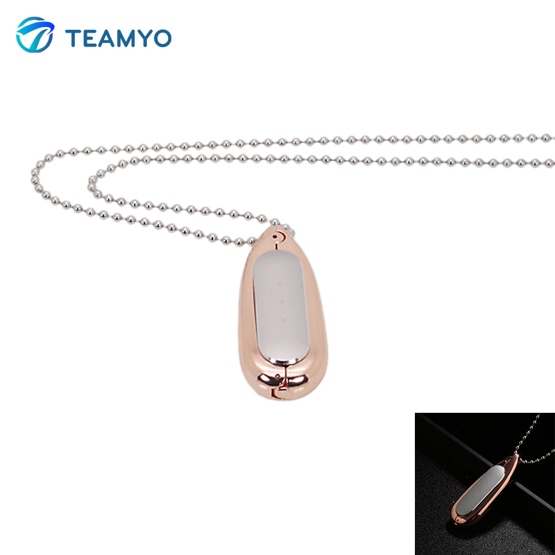 Teamyo Necklace Carrier Pendant Case For Xiaomi Mi Band 1s Smartband Accessories for Miband Replace with Top Quality