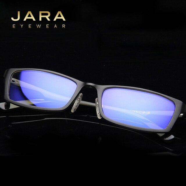 e7dcdedf3fb JARA Titanium Men Women Anti-blue Ray Computer Glasses Male Outdoor  Eyewears Accessories Glasses Frame