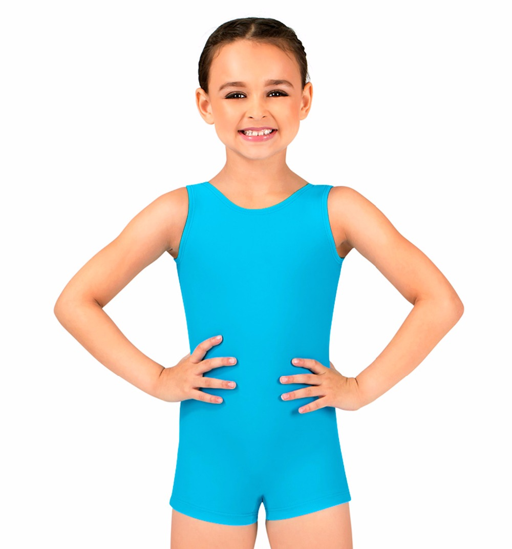 Child Tank Biketard Spandex Kids Unitard Girls Gymnastics Leotard Dance Unitard Toddler Girls Ballet Leotard Boys Shortall