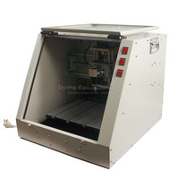 New LY CT3030 Ball Screw 3 Axis 500MW Laser CNC Router Marking Machine 2 In 1