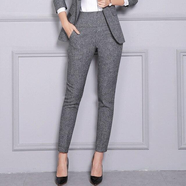 15 14 25 De Descuento Aliexpress Com Comprar Pantalones Mujer Cintura Alta Pantalones De Mujer Pantalon Mujer Pantalon Mujer Pantalones De Vestir