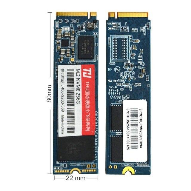 THU M.2 2280 NVME SSD PCIe 256GB 512GB 1TB 2TBNVMe SSD NGFF M.2 2280 PCIe NVMe TLC Internal SSD Disk For Laptop Desktop m2