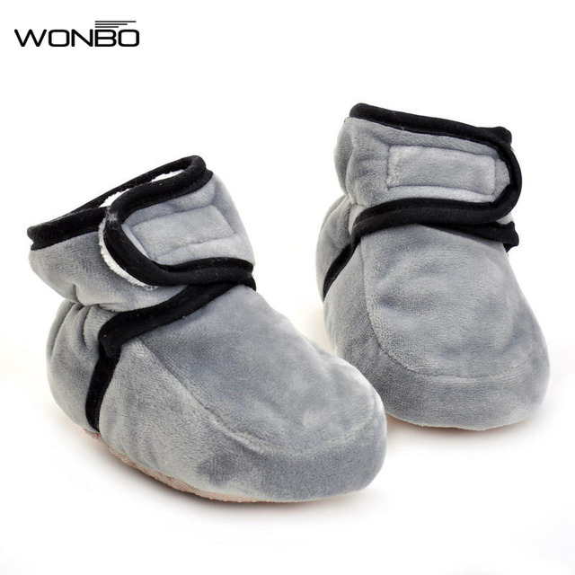 Hot Sell Wonbo Winter Super Warm Baby Shoes High Heel Baby Booties