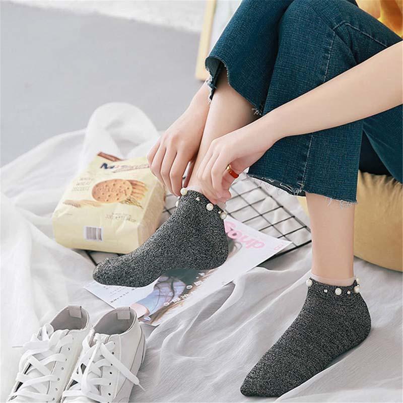 New Fashion Fashion Casual Hot Sale Simple Men Socks High Quality Banboo & Cotton Socks Shallow Mouth No Show Socks Underwear & Sleepwears