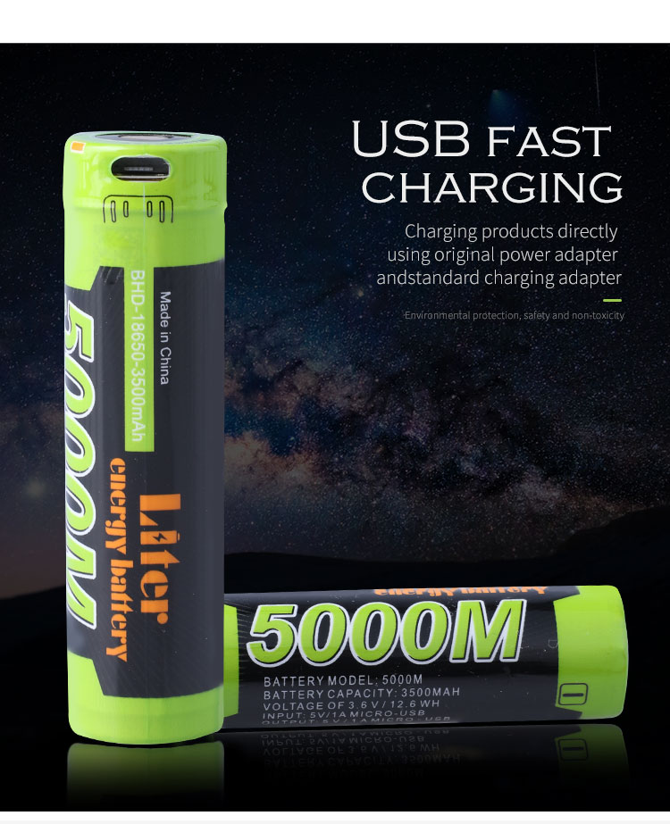 18650 3 7V 3500mAh Standard Battery Camera Electronic toys Battery Pack micro pitch connector header battery in Digital Batteries from Consumer Electronics