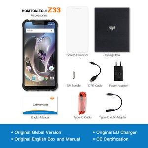 "Image 5 - ZJI Z33 IP68 Waterproof Phone 4600mAh 3GB 32GB 5.85"" Smartphone Android 8.1 MTK6739 Face ID 4G FDD LTE ZOJI HOMTOM MobilePhone"