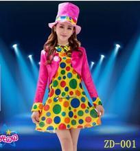 Wholesale female clown costumes