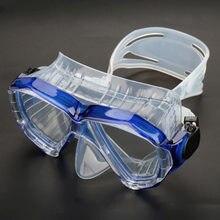56d0e15d7 Unisex Profissional Anti-nevoeiro Óculos de Mergulho Subaquática Mergulho  Máscara de mergulho de Silicone para