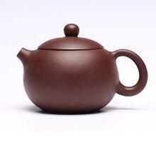 Китайский чайный горшок из исинской глины, кунг-фу, ручная работа, чайный набор Dahongpao, глиняный чайный набор, чайные горшки, 188 с шариковым отверстием, 290 мл
