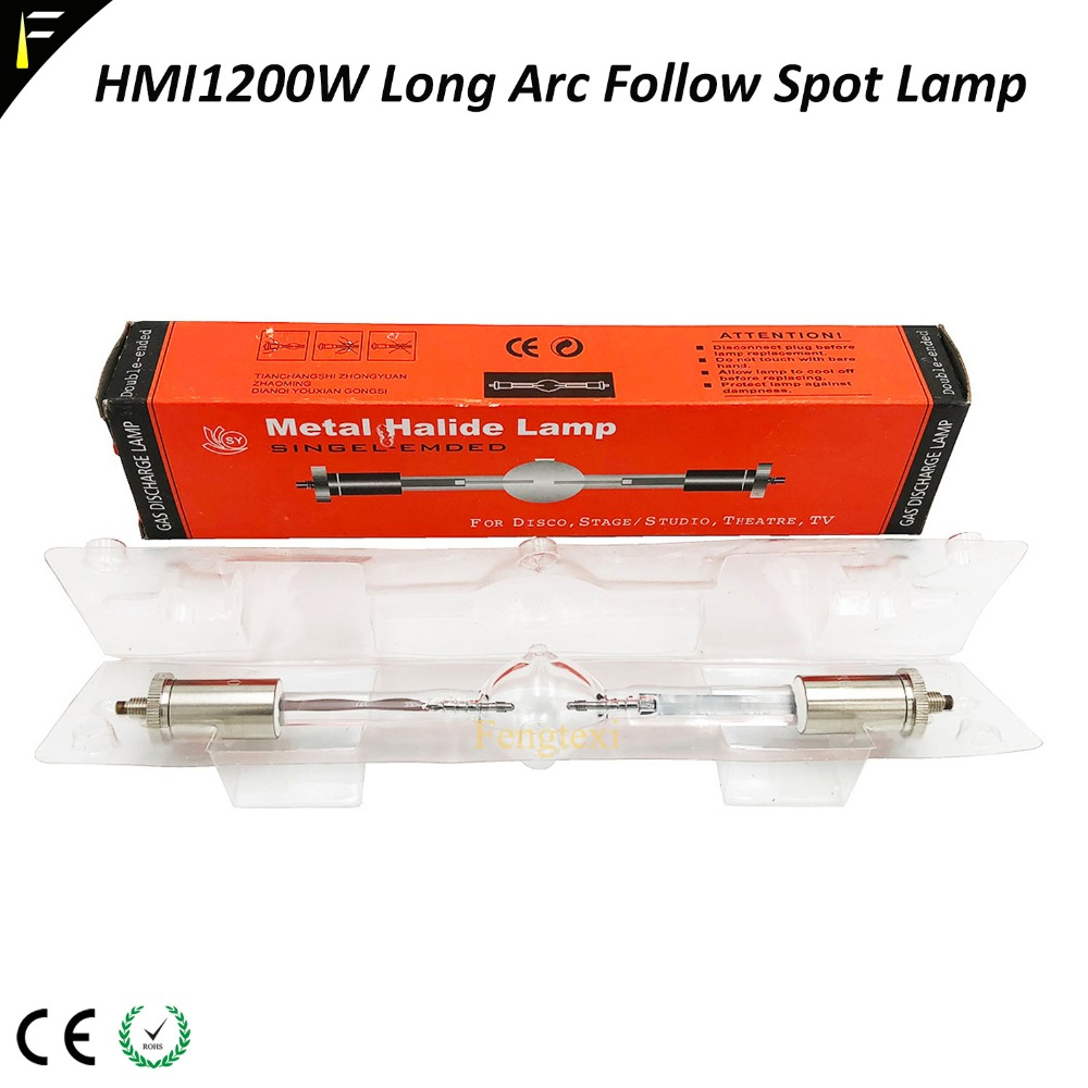 Hmi1200 1200w Long Arc AC 100w Mental Halide Lamp For Follow Spot Light Moving Head Light Bulb Hmi 1200Hmi1200 1200w Long Arc AC 100w Mental Halide Lamp For Follow Spot Light Moving Head Light Bulb Hmi 1200