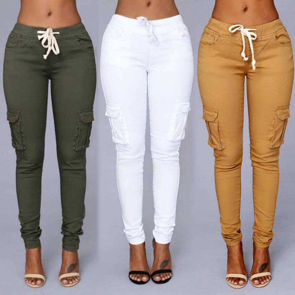 2018 Couleurs De Sucrerie Élastique Sexy Maigre Crayon Jeans Pour Femmes Leggings Jeans Femme Taille Haute de Femmes Mince-Section Denim Pantalon