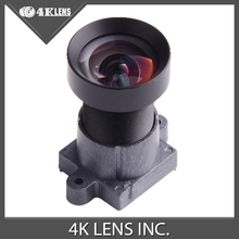 4K LENS 4.35MM Lens F2.8 16MP HFOV 72D 13G 1/2.3″ M12 Mount Low Distortion for GoPro/SJCAM/GITUP 2 Camera 2016 Hot Coming