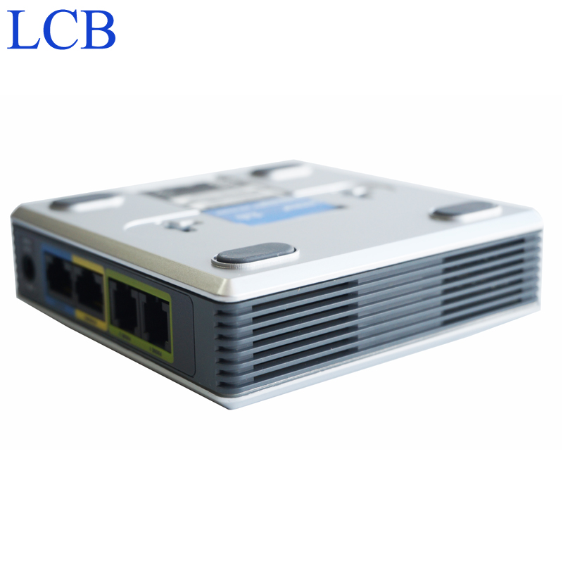 Разблокирована LINKSYS Voice ip-телефона SIP spa2102 телефона voip ata адаптер с маршрутизатором telefone сервер Системы оптовая продажа 50 шт./лот