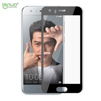 LENUO for Huawei Honor9 Tempered Glass CF HD Clear Full Screen with 2.5D Arc Edge Film for Huawei Honor 9
