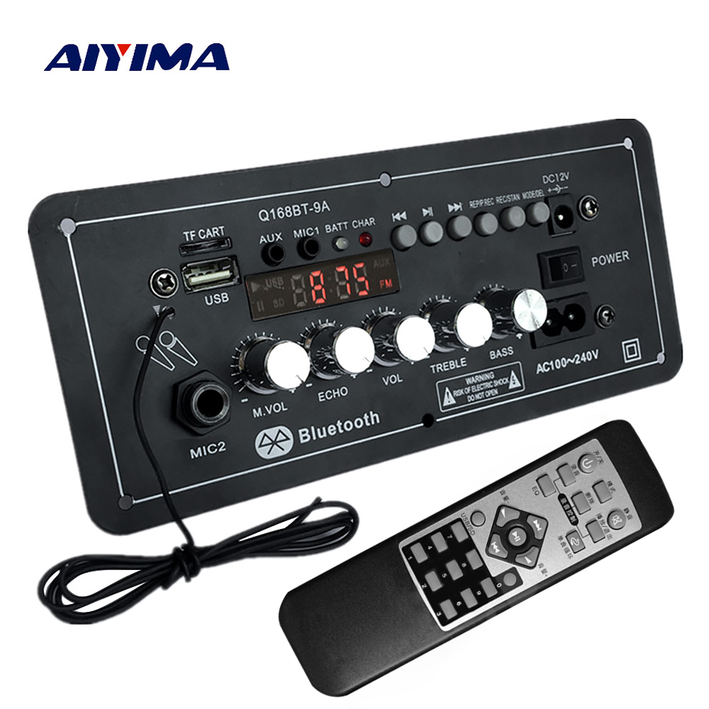 Tda7492p 25w Bluetooth Mp3 Decoder Amplifier Board 30w Stereo Power Based Tda 1521 Aiyima 12v Ac220v Subwoofer Karaoke Audio Support Aux Tf Card U