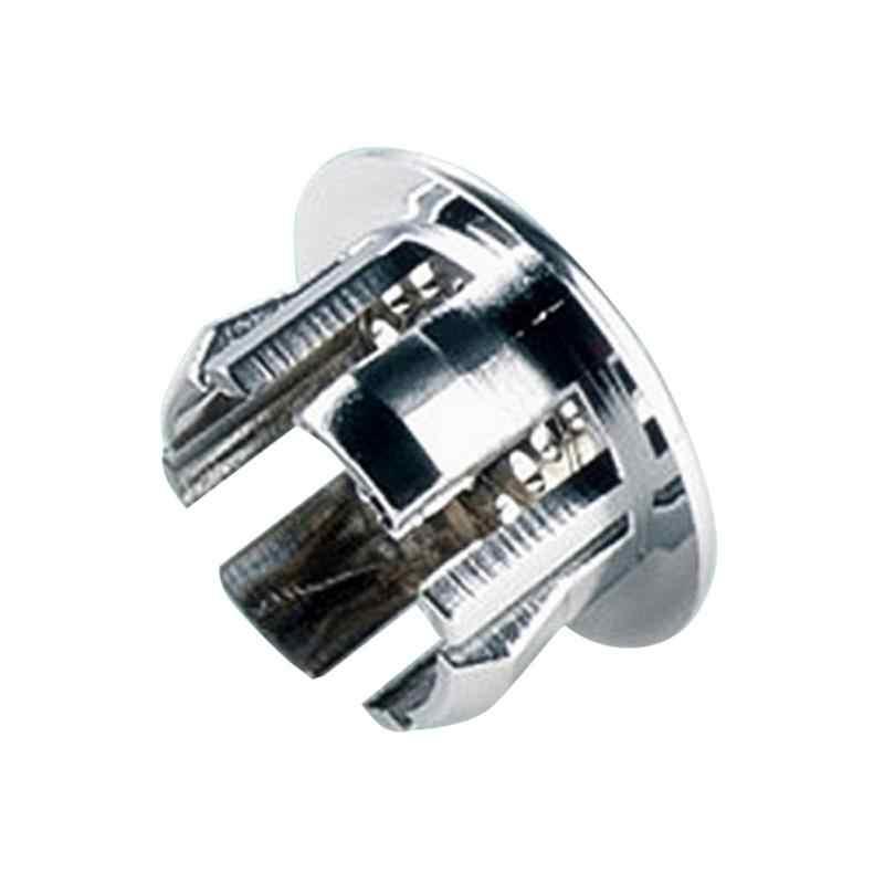 Wysokiej jakości 1 Pc zlew okrągły pierścień przepełnienie zapasowa pokrywa schludny chromowane wykończenie łazienka umywalka ceramiczna przelewem pierścień