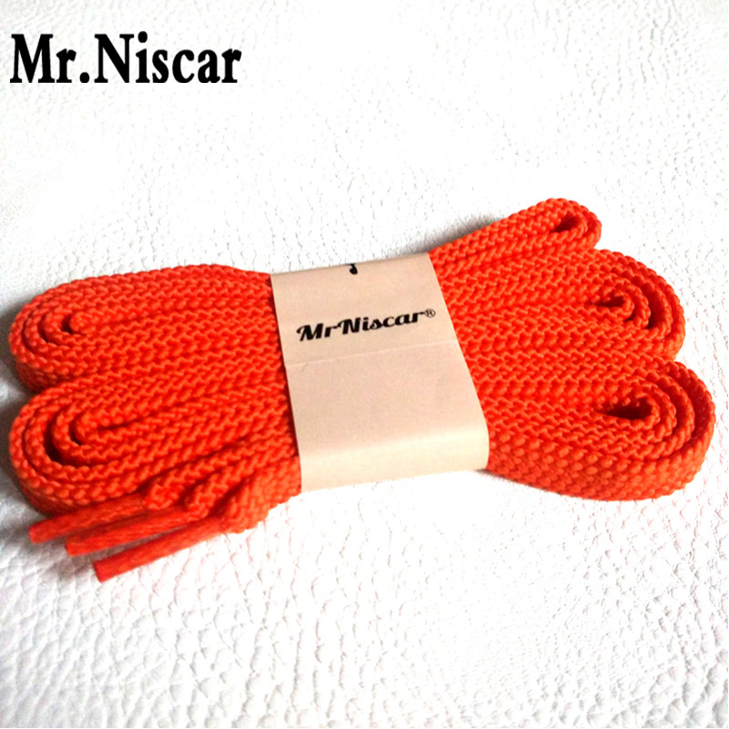 Mr.Niscar 1 Pair Double Layer Thick Flat Shoelaces Brands Casual Sneaker Polyester Shoe Laces String Fashion Colored Shoelaces 100cm flat double deck shoelaces wholesale polyester sneaker shoe lace double striped braid round shoelaces top quality