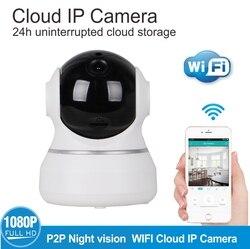 Bezpieczeństwa w domu IP kamera Wi-Fi bezprzewodowy 1080 P mini kamera sieciowa nadzoru Wifi 720 P Night Vision KAMERA TELEWIZJI PRZEMYSŁOWEJ Baby Monitor