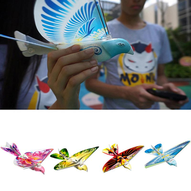 Image 5 - RC Bird RC Airplane Remote Control E Bird 2.4 GHz Flying Birds Electronic Mini RC Drone Toys-in RC Airplanes from Toys & Hobbies