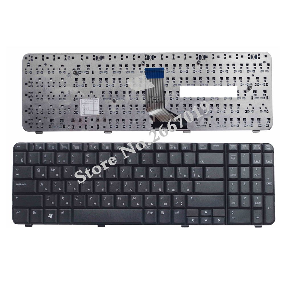Russian FOR HP For Compaq CQ61 G61 CQ61-100 CQ61-200 CQ61-300 RU Laptop Keyboard NSK-HA60R 9J.N0Y82.60R AE0P6700310