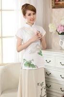 Vintage 2014 Summer Linen National Traditional Womens Tops Blouse Shirt Size S M L XL XXL
