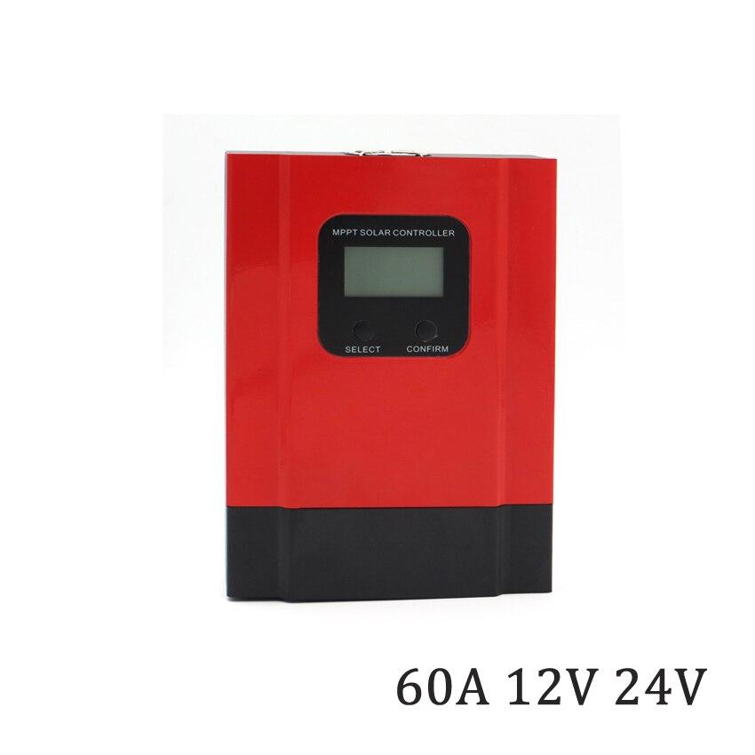 60A 12V/24V 36V 48V LCD display MPPT solar charger seale AGM GEL Iron li-ion lithium battery PWM solar charge controller60A 12V/24V 36V 48V LCD display MPPT solar charger seale AGM GEL Iron li-ion lithium battery PWM solar charge controller