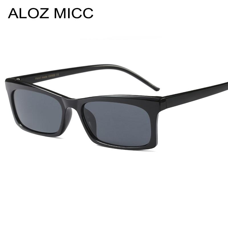 Women's Sunglasses Women's Glasses Good Aloz Micc 2018 Fashion Square Sunglasses Women Men Brand Designer Retro Black Red Frame Eyewear Lady Oculos Uv400 Q523