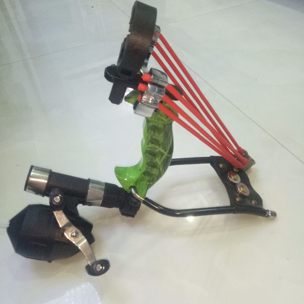 все цены на Hot Offers Hunting Mini Crossbow Slingshot Outdoor Steel Powerful Professional Catapult Sling Shot Archery