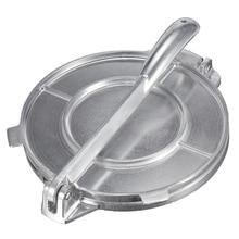 Складной тортилья производитель пресс тяжелый алюминий мясо пресс гаджеты формы для выпечки инструменты пирог инструменты серебро/оранжевый кухонные аксессуары