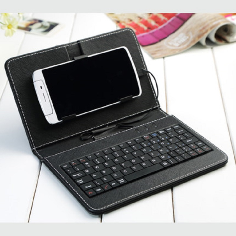 Elephone A4 Pro case General Keyboard Holster for 5.85inch Android 8.1 Mobile phone by free shipping
