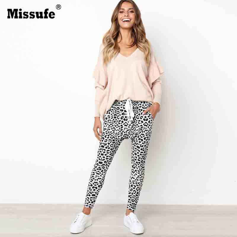 97ca4430ac37f Detail Feedback Questions about Missufe Sexy Leopard Printed Long ...