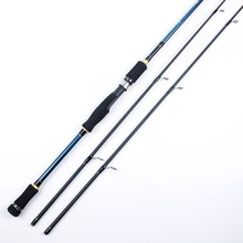 2 tips Spinning Fishing Rod 100% Carbon Surper Hard Fishing