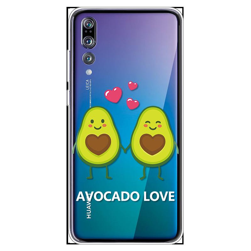 Avocado TPU Soft Cover For Huawei P20 Lite P9 P10 Plus mini 2017 Mate S 10 Pro 20 Lite P Smart 2019 Capa For Huawei P30 Pro Case