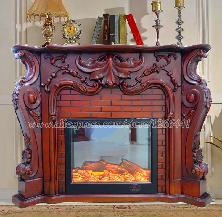 European fireplace set carved wood mantel w160cm plus - Fotos de chimeneas decorativas ...